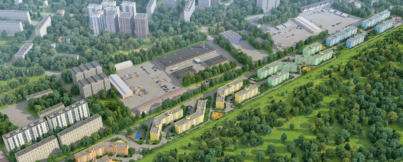 3d визуализация жилых комплексов