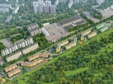 """3D визуализация нового жилого комплекса """"Времена года"""""""